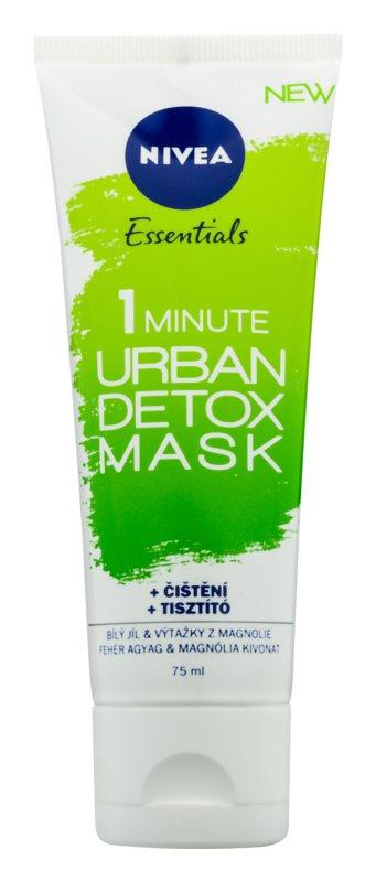 Nivea Urban Skin máscara de limpeza e desintoxicação