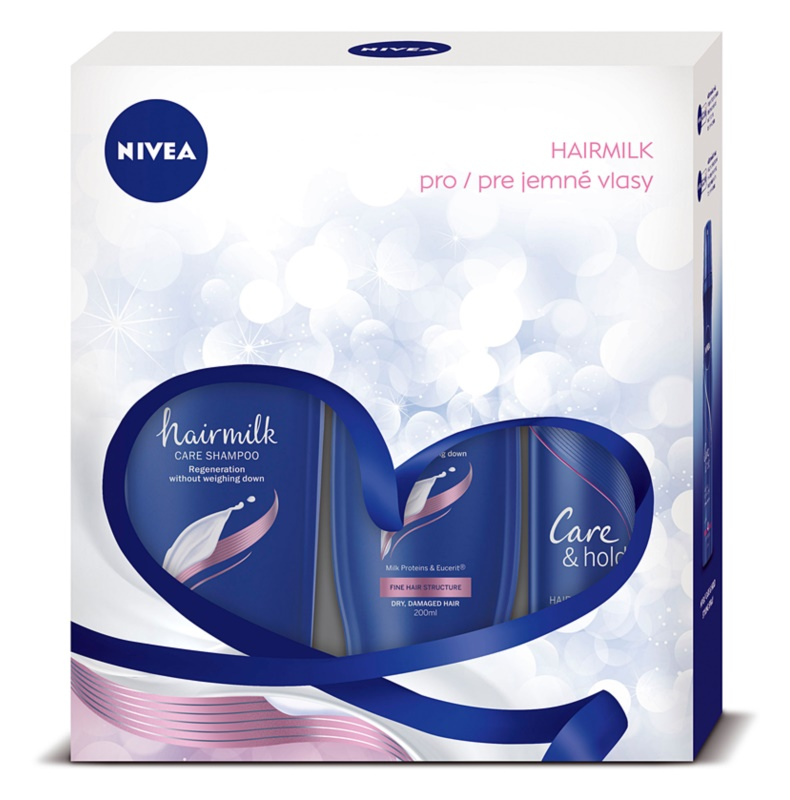 Nivea Hairmilk косметичний набір I.