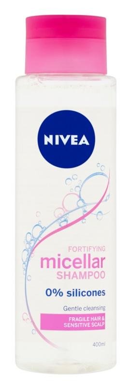 Nivea Micellar Shampoo șampon micelar fortifiant pentru par deteriorat