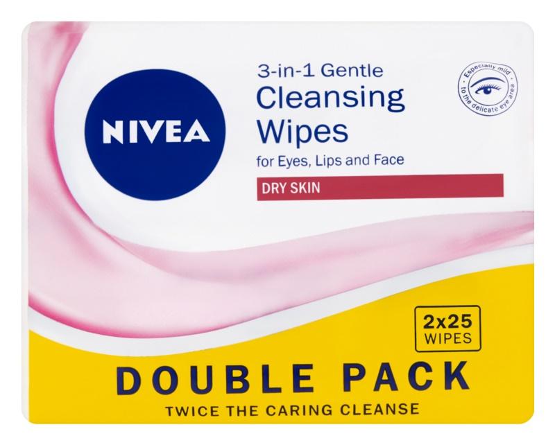 Nivea 3in1 Gentle sanfte Reinigungstücher 3in1