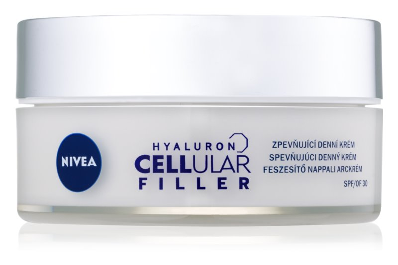 Nivea Hyaluron Cellular Filler spevňujúci denný krém SPF 30