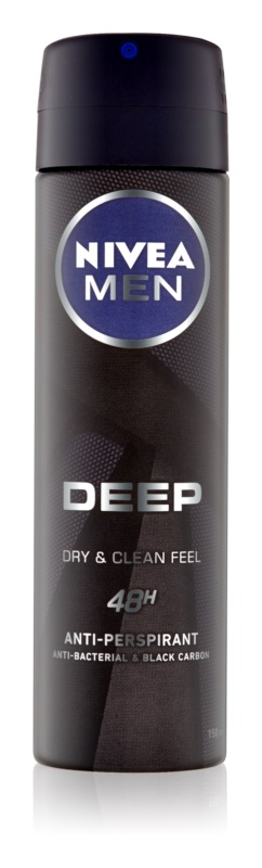 Nivea Men Deep spray anti-perspirant 48 de ore