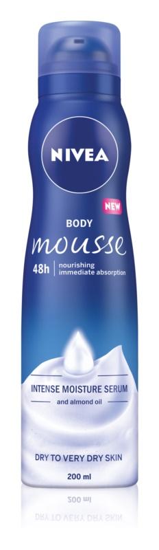 Nivea Deep Moisture tělová pěna s vyživujícím účinkem