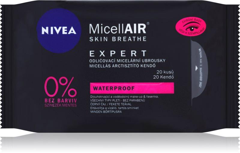 Nivea MicellAir  Expert мицеларни кърпички за почистване на грим