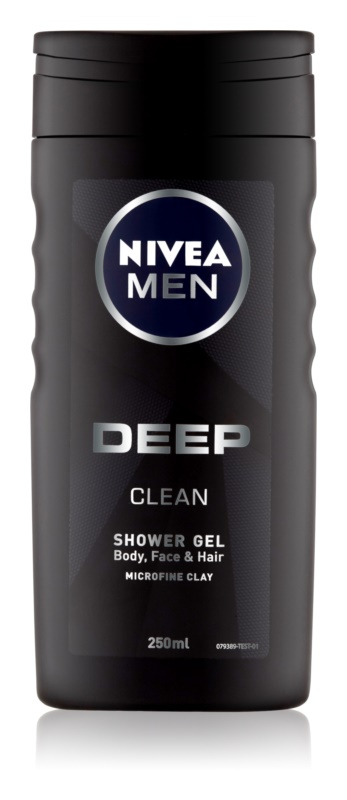 Nivea Men Deep gel de dus pentru față, corp și păr