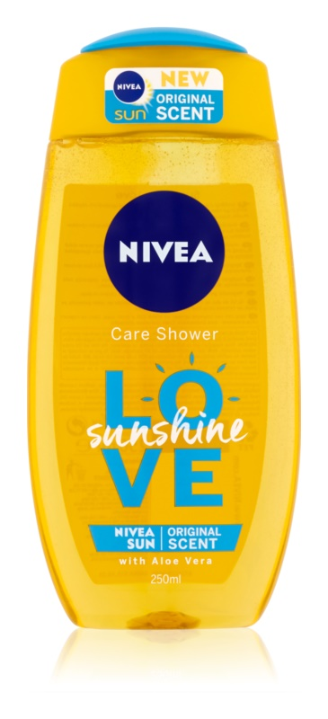 Nivea Love Sunshine освіжаючий гель для душа з алое вера