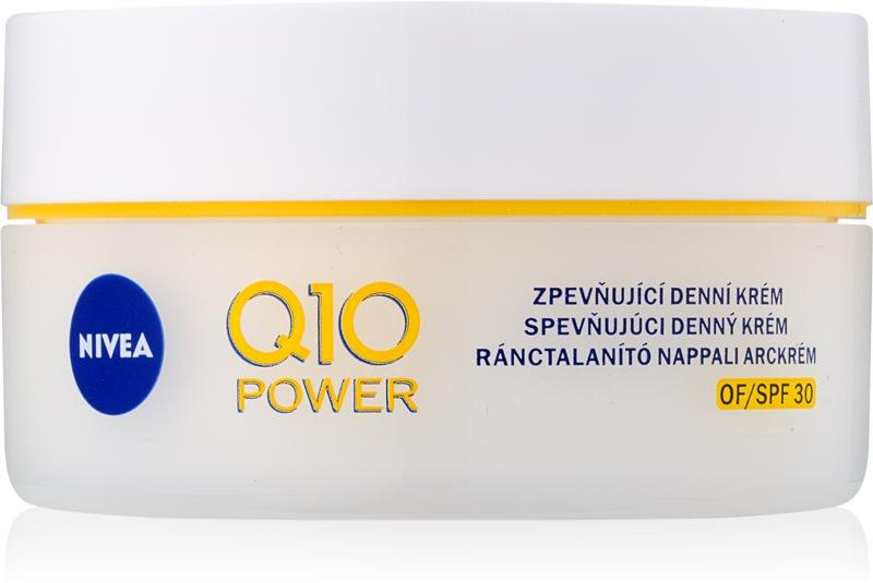 Nivea Q10 Power učvrstitvena dnevna krema proti gubam SPF 30