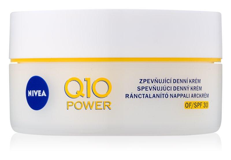 Nivea Q10 Power zpevňující denní krém proti vráskám SPF 30