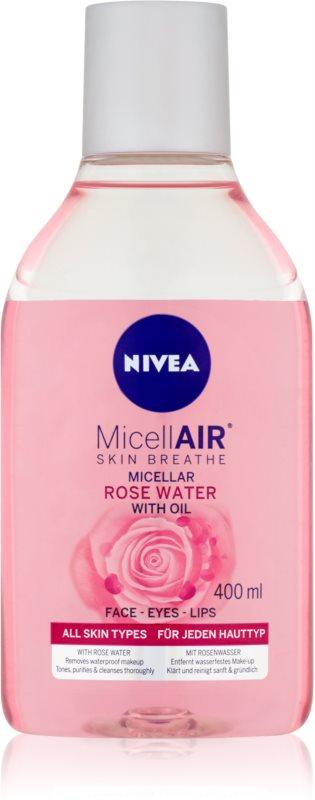 Nivea MicellAir  Rose Water dvoufázová micelární voda