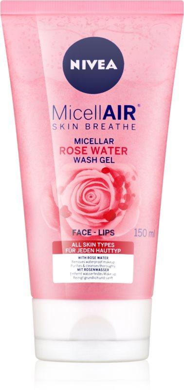 Nivea MicellAir  Rose Water čistiaci micelárny gél