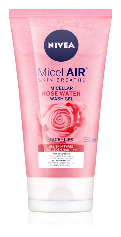 Nivea MicellAir  Rose Water Cleansing Micellar Gel