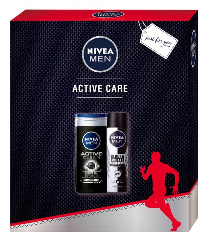 Nivea Men Active Clean косметичний набір I.