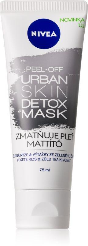 Nivea Urban Skin matirajoča luščilna maska