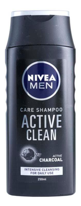 Nivea Men Active Clean szampon z węglem aktywnym