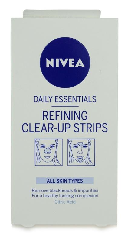 Nivea Aqua Effect tiras limpiadoras faciales