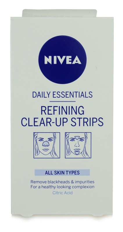 Nivea Aqua Effect очищуючий пластир для обличчя