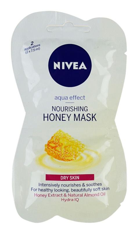 Nivea Aqua Effect mascarilla nutritiva con miel