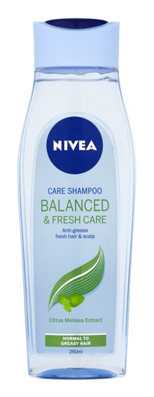Nivea Balanced & Fresh Care champô de cuidado para cabelo normal a oleoso