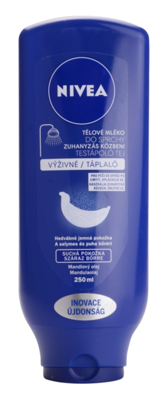 Nivea Body Shower Milk Nourishing Body Milk for Shower