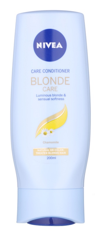 Nivea Brilliant Blonde kondicionér pro blond vlasy