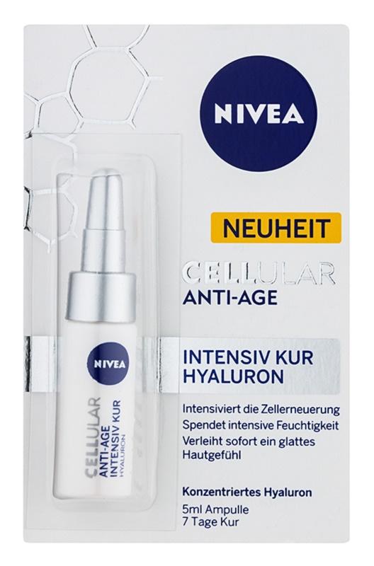 Nivea Cellular Anti-Age tratamento intensivo rejuvenescedor com ácido hialurónico
