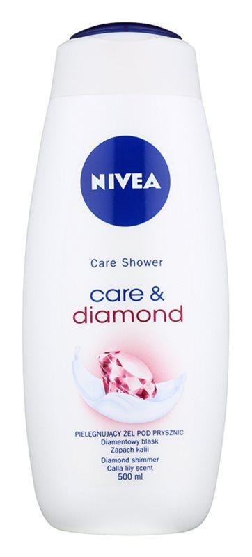 Nivea Care & Diamond pielęgnacyjny żel pod prysznic