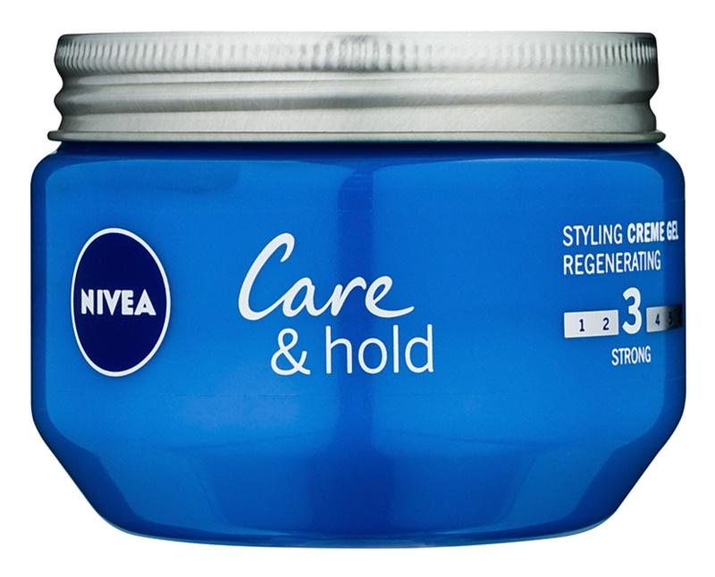 Nivea Care & Hold Crèmegel  voor het Haar