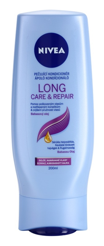 Nivea Long Care & Repair Regenerating Conditioner For Brittle And Stressed Hair