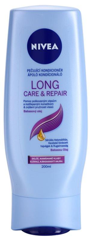 Nivea Long Care & Repair regenerierender Conditioner für brüchiges und strapaziertes Haar