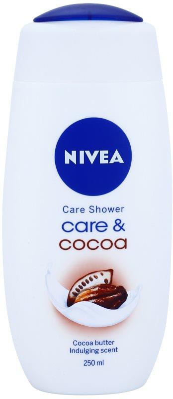 Nivea Care & Cocoa krémový sprchový gél