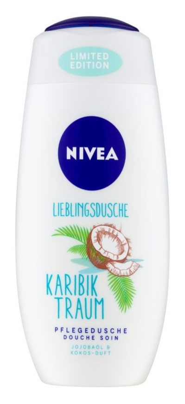 Nivea Care & Coconut gel de duche