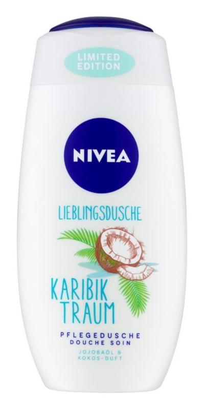 Nivea Care & Coconut гель для душу