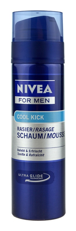 Nivea Men Cool Kick espuma de afeitar