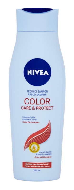 nivea color care protect shampoing l 39 huile de macadamia pour une couleur brillante. Black Bedroom Furniture Sets. Home Design Ideas