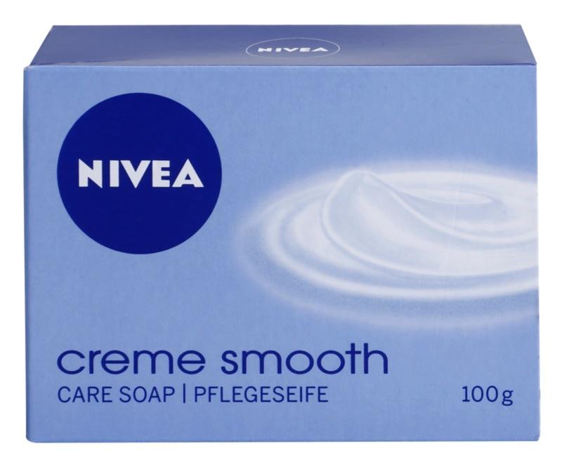 Nivea Creme Smooth tuhé mýdlo