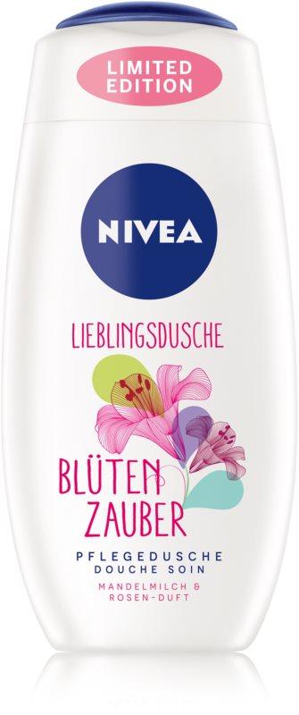 Nivea Care & Roses sprchový gel