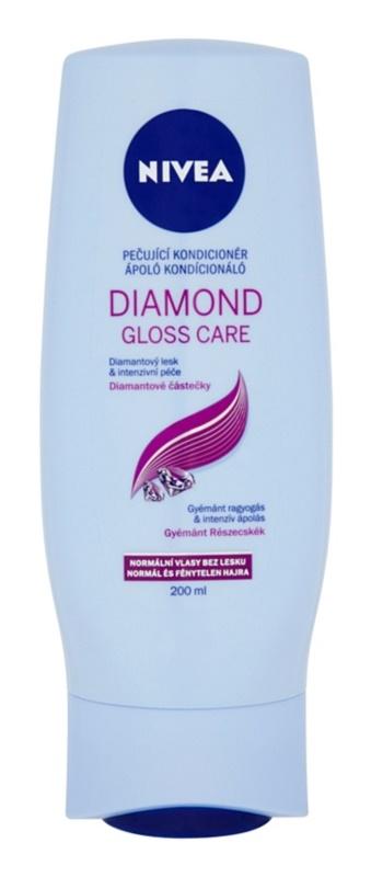 Nivea Diamond Gloss balsam pentru par obosit fara stralucire