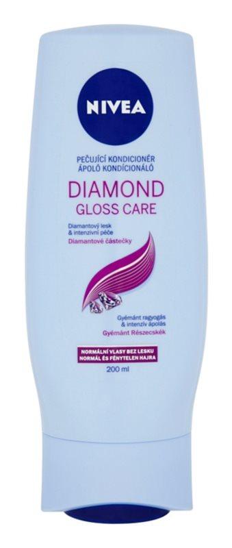 Nivea Diamond Gloss kondicionér pro unavené vlasy bez lesku