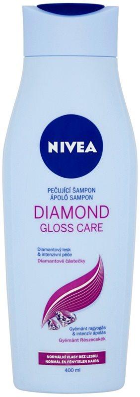Nivea Diamond Gloss szampon do włosów osłabionych, bez połysku