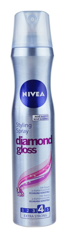Nivea Diamond Gloss laca de cabelo