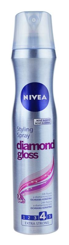 Nivea Diamond Gloss lak na vlasy