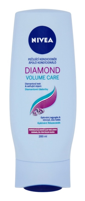 Nivea Diamond Volume condicionador para volume e brilho