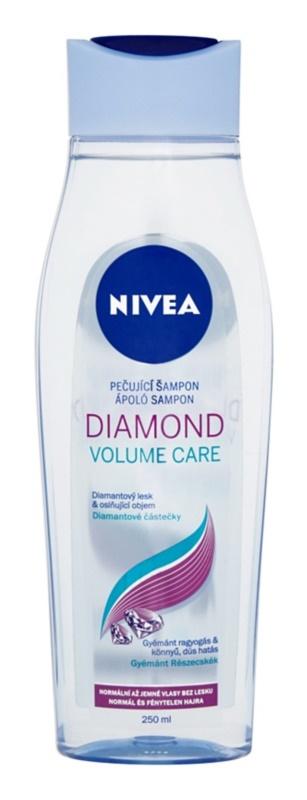 Nivea Diamond Volume šampon pro objem a lesk
