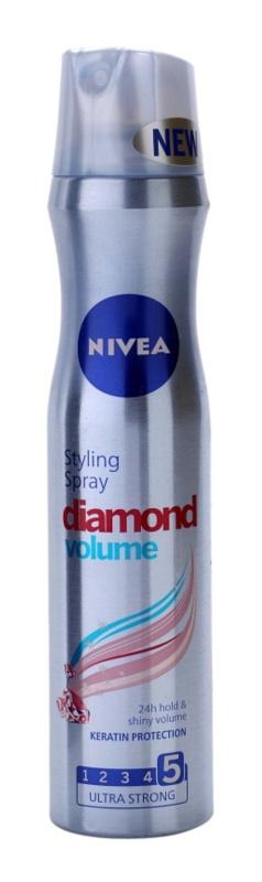 Nivea Diamond Volume лак для волосся для об'єму та блиску