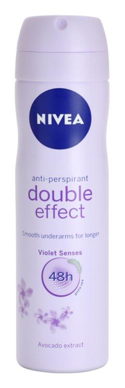 Nivea Double Effect antiperspirant ve spreji