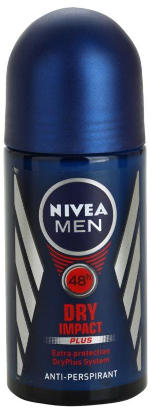 Nivea Men Dry Impact roll-on antibacteriano