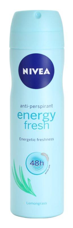 Nivea Energy Fresh антиперспірант-спрей