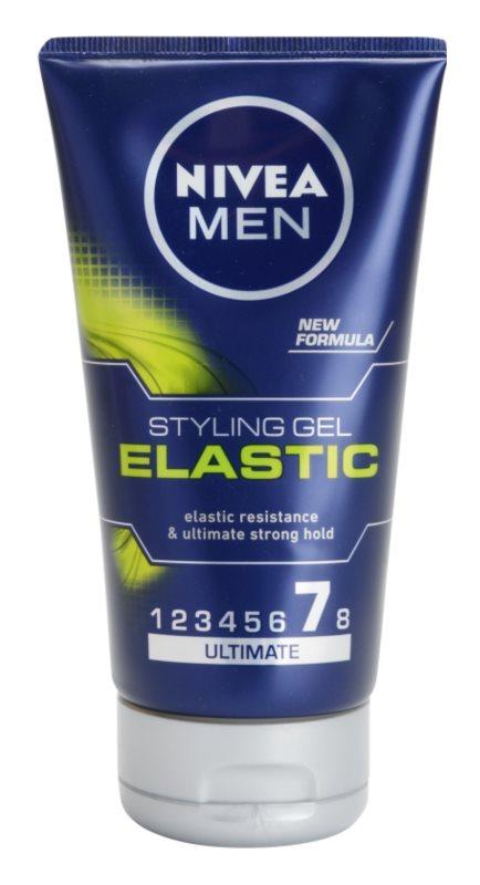 Nivea Men Elastic gel de cabelo fixação extra forte