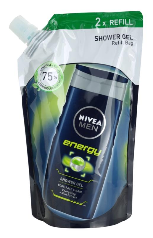 Nivea Men Energy gel za prhanje nadomestno polnilo