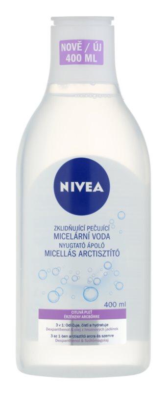 Nivea Face agua micelar limpiadora calmante para pieles sensibles